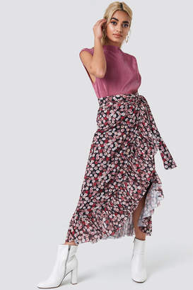 Na Kd Trend Mesh Overlap Maxi Skirt