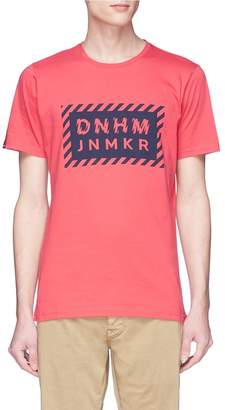 Denham Jeans 'DEN691' slogan print T-shirt