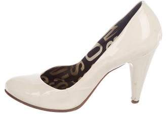 Marc by Marc Jacobs Patent Leather Semi Pointed-Toe Pumps