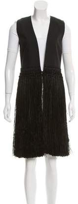 Maison Margiela Fringed Evening Vest