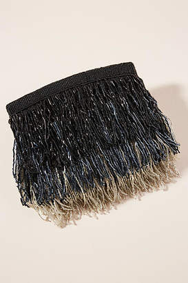 From St. Xavier Sienna Fringe Clutch