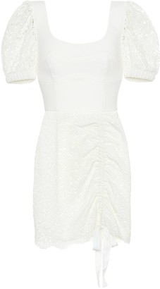 Rebecca Vallance Le Saint lace minidress