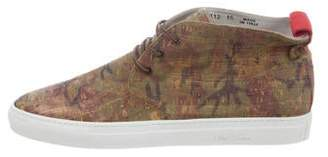 Del Toro Camouflage Chukka Sneakers