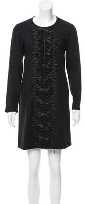 Roberta Furlanetto Long-Sleeve Mini Dress w/ Tags