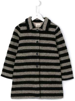 Douuod Kids striped coat