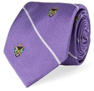 Lauren Ralph Lauren Crest Silk Club Tie