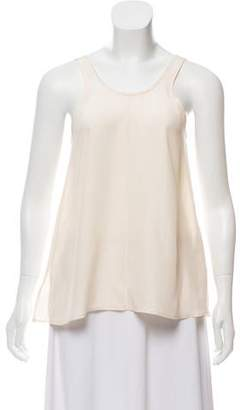 Giada Forte Silk Embroidered Top w/ Tags