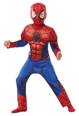 Rubie's Costume Co Spider-Man Deluxe Fancy Dress Costume