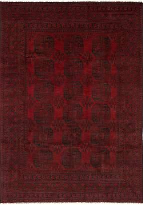 "Ecarpetgallery Hand-knotted Khal Mohammadi 6'6"" x 9'5"" 100% Wool Borde area rug"