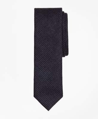 Brooks Brothers Check Wool Slim Tie