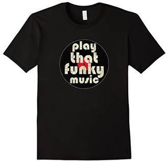 PLAY THAT FUNKY MUSIC Vintage 1970 T-Shirt: Men