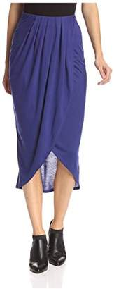 James & Erin Women's Slit Skirt
