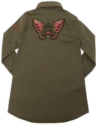 Zadig & Voltaire Butterfly Cotton Gabardine Shirt Dress