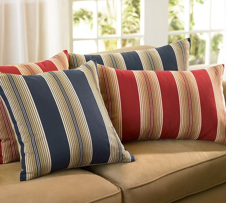 Ombre Stripe Pillow Covers