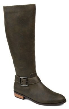 Journee Collection Winona Extra Wide Calf Riding Boot