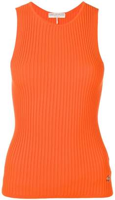 Emilio Pucci Ribbed Knit Tank Top