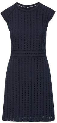 Banana Republic Eyelet Shift Dress