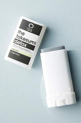 Kaia Naturals The Takesumi Detox Bamboo Charcoal Travel Deodorant