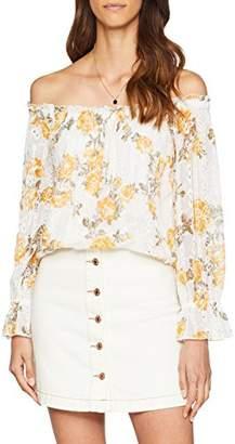 Miss Selfridge Women's Floral Bardot Blouse