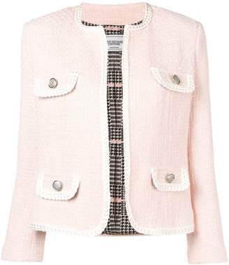 Couture Forte Dei Marmi contrast trim tweed jacket