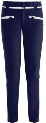 Perfect Moment - Aurora Ii Skinny Fit Ski Trousers - Womens - Navy White