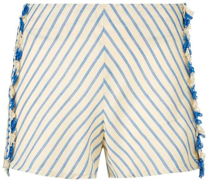 Dodo Bar Or Diego Striped Shorts