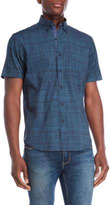 English Laundry Con.Struct Hybrid Short Sleeve Shirt