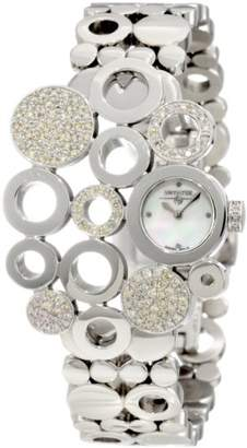 Swiss Diamond Swisstek SK17750L Limited Edition Watch With Mother-Of-Pearl Dial And Sapphire Crystal