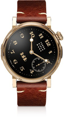 Terra Cielo Mare Toponi Officer Gold Watch