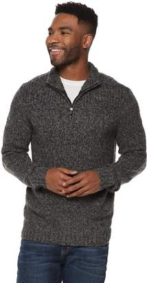 Method Products Men's Regular-Fit Quarter-Zip Mockneck Sweater