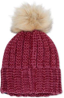 Marmot Sadie Faux-Fur Pom Pom Beanie