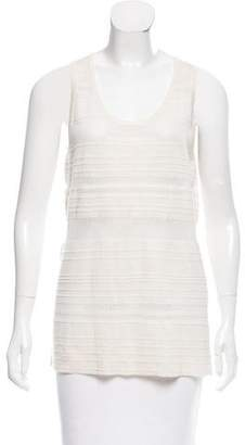 Derek Lam Cashmere Semi-Sheer Top w/ Tags