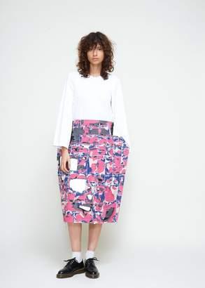 Comme des Garcons Patchwork Structured Skirt