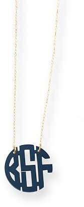Acrylic Circle Block Necklace