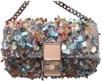 Fendi Baguette Glitter Mini Bag