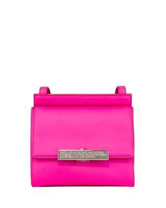 Calvin Klein Starr Neon Leather Crossbody Bag
