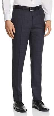 HUGO Hets Slim Fit Tonal Plaid Suit Pants