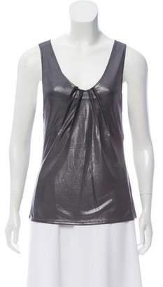 Christian Dior Sleeveless Scoop Neck Top