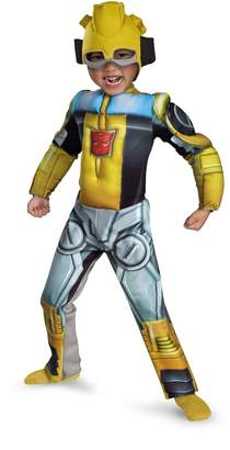 Disguise Costumes Bumblebee Rescue Bot Toddler Muscle Costume