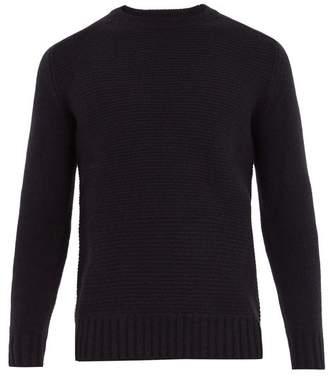 Iris von Arnim Crew-neck ribbed-knit cashmere sweater