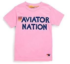 Aviator Nation Toddler, Little & Big Kid's Cotton Logo Tee