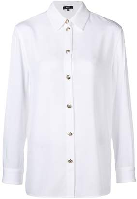 Versus long-sleeve fitted shirt