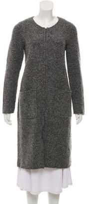 Eileen Fisher Wool-Blend Long Coat