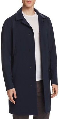 Theory Tech Midlength Coat $645 thestylecure.com