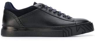 Emporio Armani laced-up low top sneakers