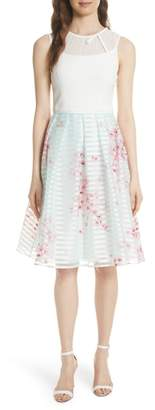 Ted Baker Soft Blossom Fit & Flare Dress