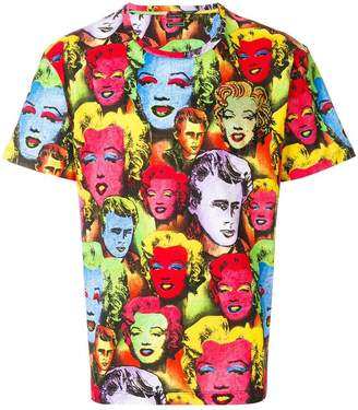 Versace Pop Art print Tribute T-shirt