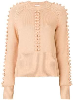 Chloé (クロエ) - Chloé ポンポン装飾 セーター