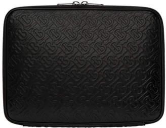 Burberry Black Monogram Laptop Case