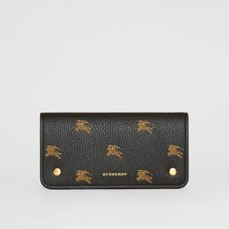 Burberry EKD Leather Phone Wallet